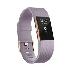 Fitbit Charge 2 Heart Rate + Fitness Wristband - Rose Gold (Small)