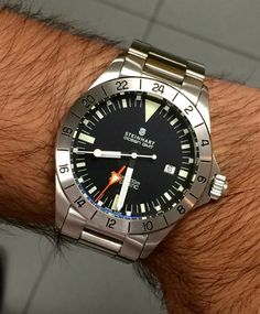Steinhart Ocean Vintage GMT or...CHWard GMT...decisions decisions