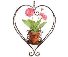 Držač za posudu za cvijeće Heart - Vivre