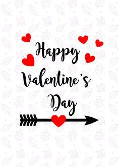 Happy Valentines day SVG Valentine SVG by CheerandCherryprints