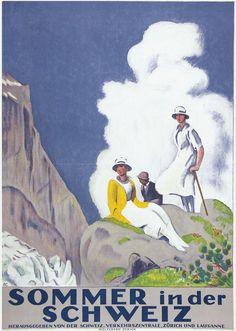 Sommer in der Schweiz - 1921 - (Emil Cardinaux) -