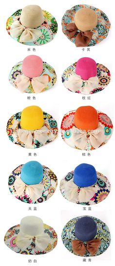 f6f8e0f53a0 Wide Brim Church Folding Summer Beach Sunbonnet Cap