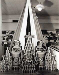 retro retail stores grand union supermarket new york ny 1948 vintage 1948