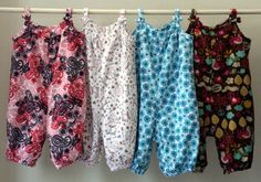 Balloon Bloomers made of soft fleece to fit over a Pavlik Harness.