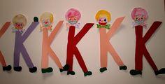 S o f i a' s K i n d e r g a r t e n: ΜΑΘΑΙΝΩ ΤΑ ΓΡΑΜΜΑΤΑ ΣΤΟ ΝΗΠΙΑΓΩΓΕΙΟ - Το γράμμα (Κ) του Κλόουν Language Arts, Kindergarten, Carnival, Blog, Classroom, Class Room, Carnavals, Kindergartens, Blogging