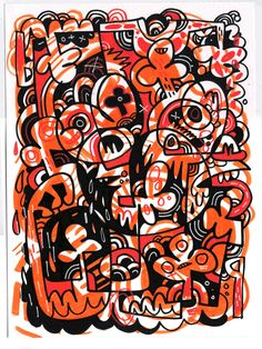 Jon Burgerman Art Designer Whole Lotta Love Through Design Picasso Style, Collage Illustration, Art File, Outsider Art, Comic Books Art, Cartoon Art, Doodle Art, Book Design, Art Inspo