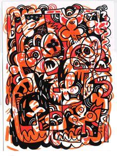 Jon Burgerman Art Designer @Love Through Design