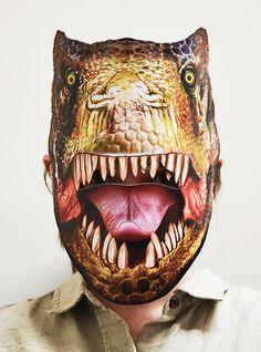 Tyrannosaurus Mask