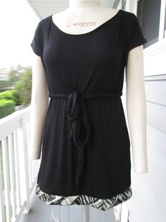 The Drawstring Shirt Dress by Yoyce on Etsy, $35.00