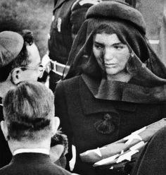 Jackie Kennedy thanks the religious participants in her husband's funeral.