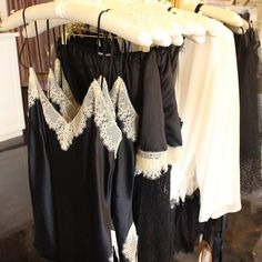 What will you put on when the costume comes off?  This luxurious #sleepwear from Samantha Chang and @onlyhearts1978 is 25% off during our Halloween sale!  #silk #lace #halloween #lounge #lingerielove #lingerieaddict #fairhope #downtownfairhope #instalingerie #instagood #tldfairhope