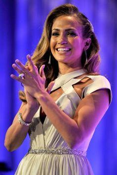 Jennifer Lopez rocking our huge Iceberg ring and earrings!