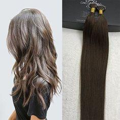 Nano Ring 100% Human Hair Extensions (#4) Hair Extensions Tutorial, 100 Human Hair Extensions, Remy Human Hair, Hair Restoration, Hair Blog, Curls, Pure Products, Long Hair Styles, Ring