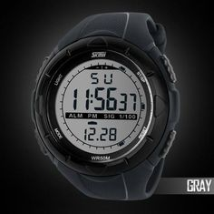 a297fd88b52 Mighty Gadget - 2014 New Skmei Brand Men LED Digital Military Watch