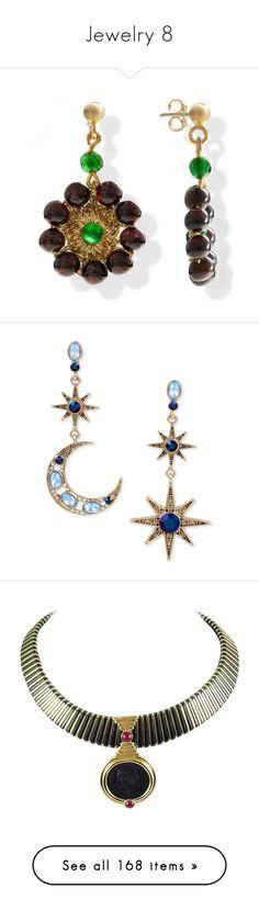 """""""Jewelry 8"""" by faeryrain ❤ liked on Polyvore featuring jewelry, earrings, crochet earrings, gemstone jewelry, green agate earrings, vintage jewellery, drop earrings, blue, blue stone jewelry and betsey johnson jewelry"""