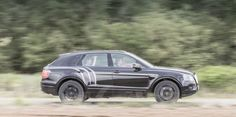 Bentley shows off the Bentayga's brute force in an off-road video