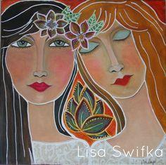 Soul Sisters ~ Art Journal Ideas