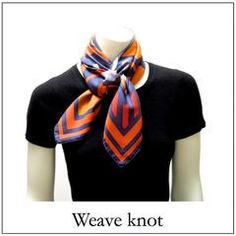 Please click on the images below for detailed instructions. You can vary the knots by pulling them tighter or loosening them, leaving one end longer than the ot