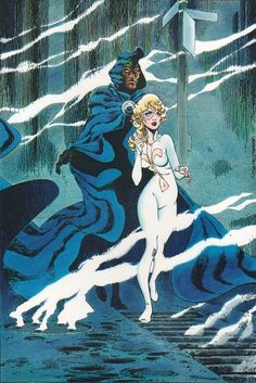comicblah Cloak & Dagger (and Spidey!) Gallery by Rick Leonardi, Terry Austin