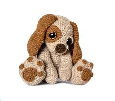Moss The Puppy Dog Amigurumi Pattern