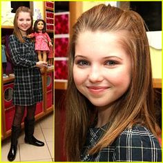Young actress Sammi Hanratty played Girl of the Year Chrissa. An American Girl: Chrissa Stands Strong follows Chrissa as she moves to a new school mid-year...