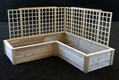 Raised Garden Bed With Trellis Plans | The Garden Inspirations