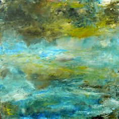 Moonlight Serenade at the Pond by Sharon Barfoot