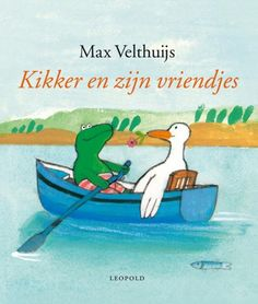 Kikker en zijn vriendjes Hans Christian, I Love Books, My Books, Dutch Language, Bookshelves Kids, Childrens Books, Illustrators, Back To School, Reading