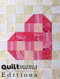 Bloc 13 - Block 13  Découvrez ce bloc GRATUIT avec son patron sur Quiltmania.fr. Let's discover this FREE block (and its pattern) on quiltmania.com