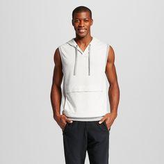 Men's Activewear Sweatshirt White Gray Heather