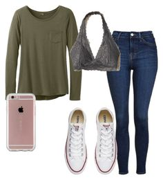 """""""Gucci"""" by kenziecholton4 on Polyvore featuring prAna, Topshop, Hollister Co., Converse and Speck"""