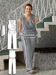 Love BURDA sewing patterns - best fashion available for plus size figures!