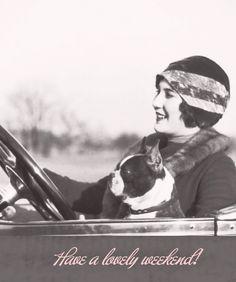 Boston Terrier love vintage-swoon-or-smile