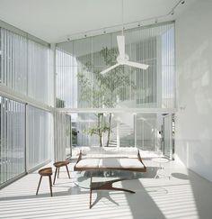 The Park House, Singapore, 2011 by formwerkz #architecture #white #design #modern #minimal