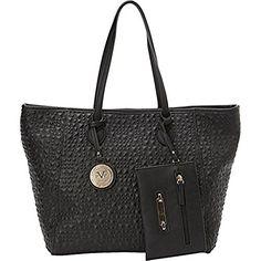 356cd9cf82 Italia by Versace Designer Handbags Women s Sistine Convertible Tote Versace  Designer
