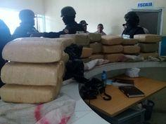 Ocupan 24 paquetes de presunta marihuana durante operativo en la capital