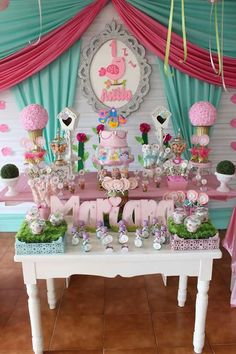 Deco Originale, Bird Theme, Party Desserts, Holidays And Events, Baby Shower Themes, Shabby Chic, Candy, Table Decorations, Birthday