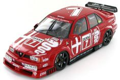 The Alfa Corse Alfa Romeo 155 V6 Ti as it was driven in the 1993 DTM series by Alessandro Nannini.