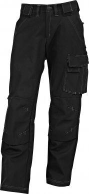 Miesten housut. Monilla yksityiskohdilla varustetut miesten housut tehostetikkauksilla. Etu- ja takataskut. Oikeassa takataskussa läpällinen tarrakiinnitys. Reisitasku vasemmalla. Tarrakiinnitteiset irtoriipputaskut. Vahvistettu mittatasku oikeassa lahkeessa. Vyönlenkit. Alhaalta täytettävät polvitaskut.