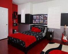 Image result for teenager's bedroom emo