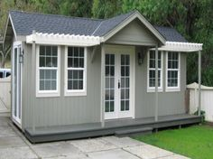 200-600 sq ft Pre-Fab Guest House cottages Delivered and Installed for as low as $6450 - how coo!