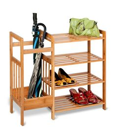 Another great find on #zulily! Bamboo Entryway Organizer by Honey-Can-Do #zulilyfinds