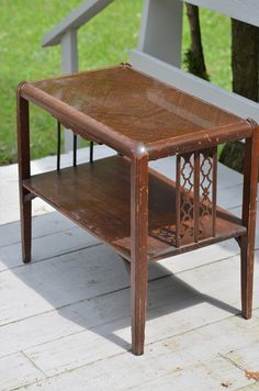 anderson + grant: Refurbished Side Table