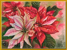 watercolor christmas paintings - Bing Bilder