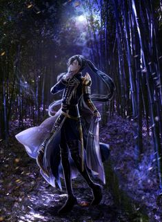 Touken Ranbu, Fantasy Characters, Anime Characters, Nikkari Aoe, Anime Oc, Anime Male, D Gray Man, Cartoon Man, Amazing Drawings