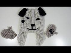 Tricotin - Bonnet Péruvien / Loom Knitting - YouTube