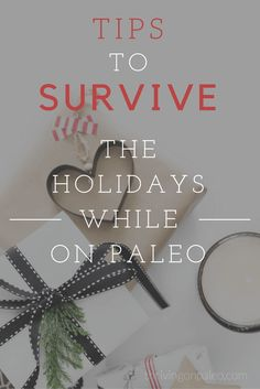 Getting through the holidays while on the Paleo diet (or a gluten-free diet) can be hard! Over the last 5 years I've figured out some things that work and don't work and share these tips here.