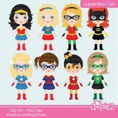 Super chica comic super chica chicas imágenes por Dtaiez en Etsy