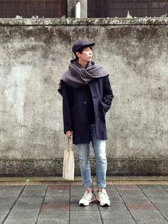 坂本海斗さんのScarf「ZARA 」を使ったコーディネート