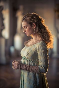 """"""" her Little secret """" Lily James, Period Costumes, Movie Costumes, Downton Abbey, War And Peace Bbc, Pride And Prejudice And Zombies, The Great Comet, Lady, Character Inspiration"""